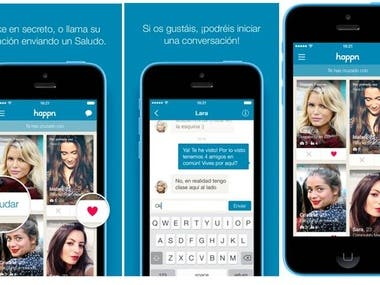 Dating mobile application for both android and iPhone