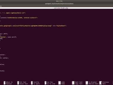 If you need complete Laravel setup, ping me on below contacts:  #Telegram: linuxlinked #email: linuxlinked@gmail.com #WhatsApp: +8801720903155 #Skype:live:.cid.c0dc316b9d727d5e #YouTube: https://youtu.be/ST1fijC651w  #Checkout my GitHub gist for laravel installation: https://gist.github.com/LinuxlinkedBD/b99f1d467dc0df06ed36fbbadfe5ad42