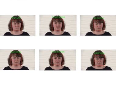 This project is to recognize the facial expressions in the image and video.