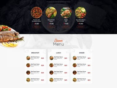 Designed and developed complete JingoCajun Eatery Website for a US based client.