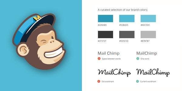 mailchimp brand guidelines