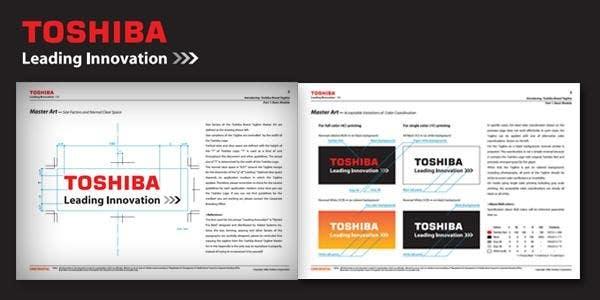 toshiba brand guidelines