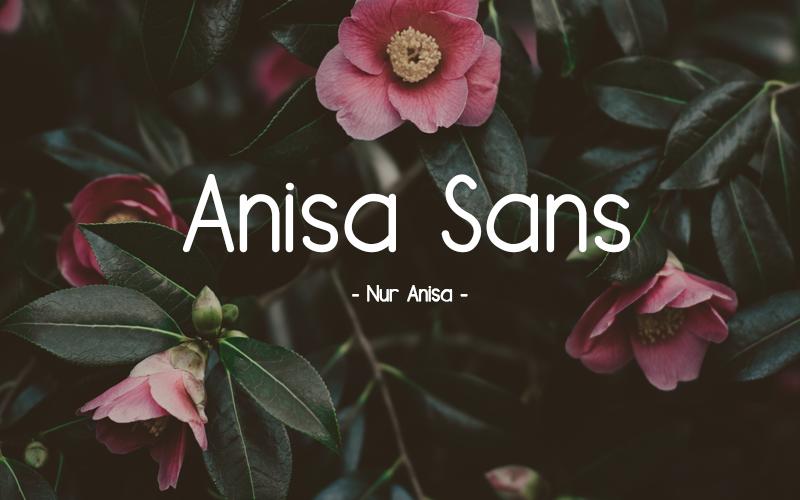 Anisa Sans Font
