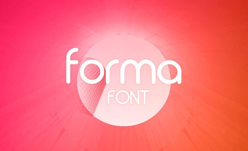 Forma font