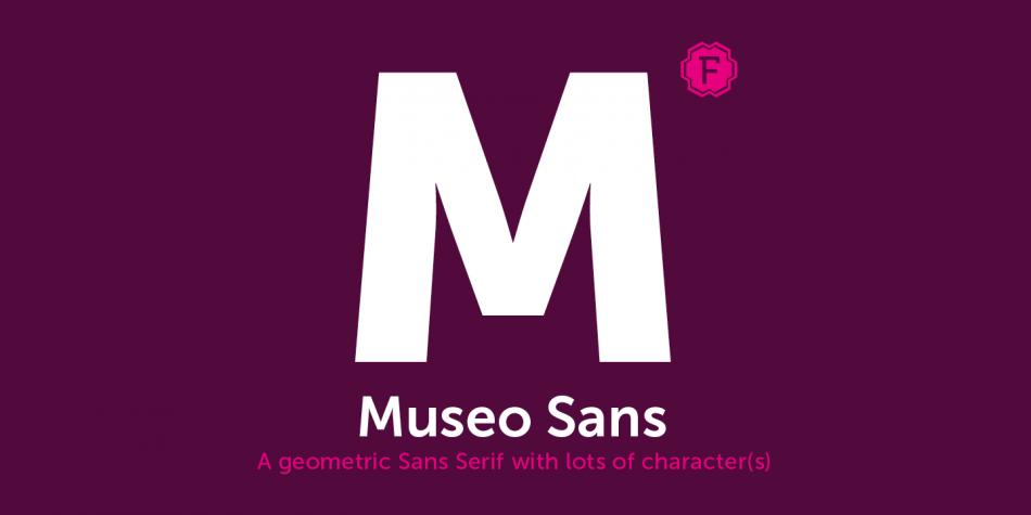 Museo Sans font