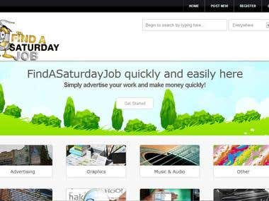 www.findasaturdayjob.com to see it. The latest site in micro jobs!