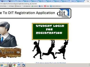 student registration system