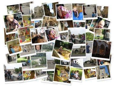 Как сделать фотоколлаж из одной фотографии 656