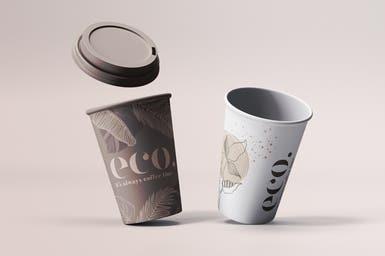 Eco Coffee Cups Design