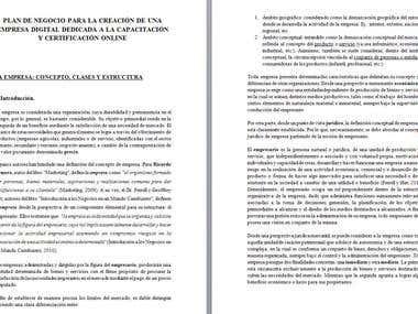 spanish translation essay