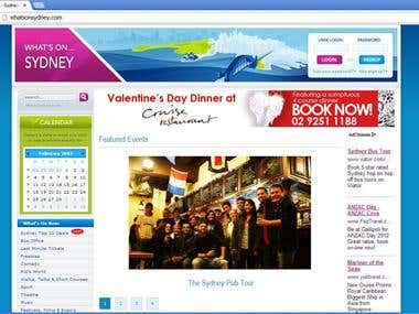 Jquery date in Sydney
