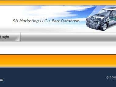 This huge project involves a massive database of vehicle parts dealing with data entry interface development, database designing, XML exporting as well as entity constrain management. This was developed with PHP & MySQL.