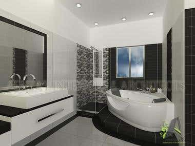 Samzehra interior designer bacherlorate from for Bathroom planner ireland