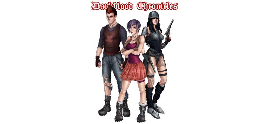 Freelancer.com Darkblood Characters - winning entry