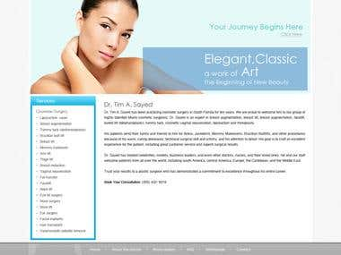 Website designed for one of the US plastic surgeon. http://www.miamiplasticsurgeon.com/