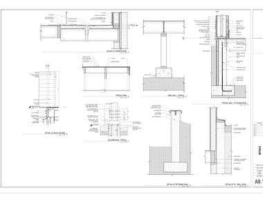 We also provide drawings of construction details.