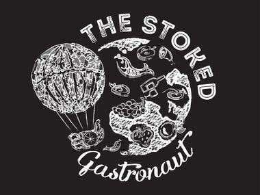The stoked gastronaut