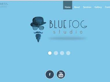 Website Build By Us of bluefogstudio having php database of sharing video and images and having a blog inside