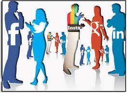 social media integration on portfolio sites