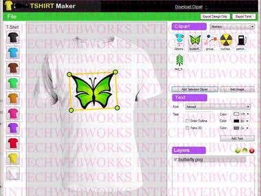 Intechwebworks net consultant software developer for Logo t shirt maker