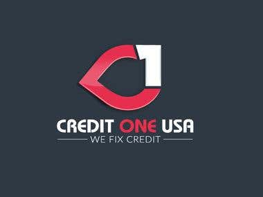 Credit One USA logo