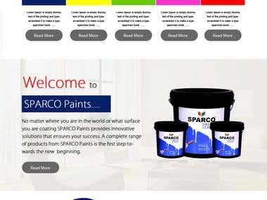 sparco paints