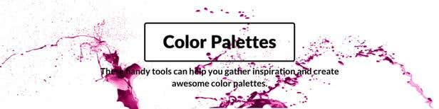 Free color palette tools