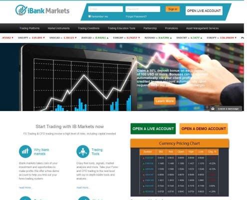 Online Forex Broker – iBank Markets – ibankmarketsfx