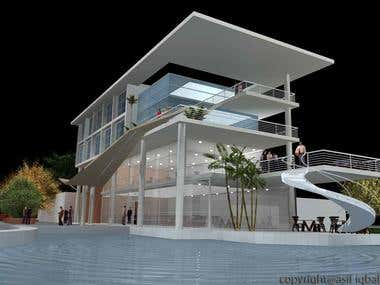 A highway restaurant with conference and seminar facility beside the route to COX'S BAZAR.