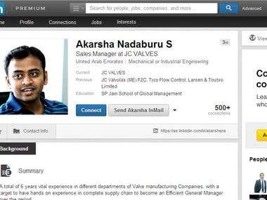 how to download linkedin account