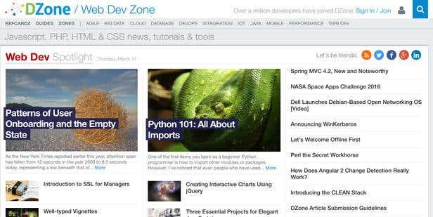 15 Resource Websites Every Web Developer Should Know   Freelancer Blog