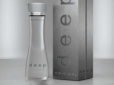 "Campaign for new brand ""DEEP WATER\"" in USA"
