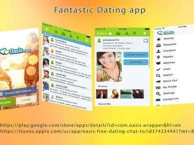 Oasis dating website