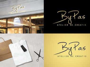 Visual identity design and branding to ByPas workshop clothing.  ByPas is a creative workshop what redefines elegance and emphasize the beauty and uniqueness of design.  ByPas team wanted a representative logo for the activity, and at the same time original and memorable.  I chose gold, chromatic color that reflect the elegance and black as an element of contrast.  Because the team wants to ByPas put its mark on every outfit I opted for using an elegant font while providing a professional look.