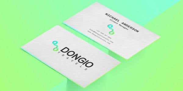 60 modern business cards to make a killer first impression neon design for modern business card reheart Images