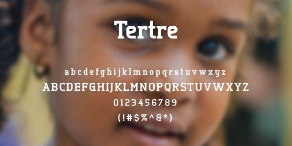 Tertre Free Font