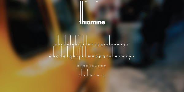 Thiamine Free Font