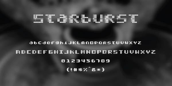 Starburst Free Font