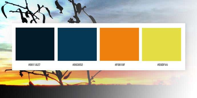 Day And Night Color Palette