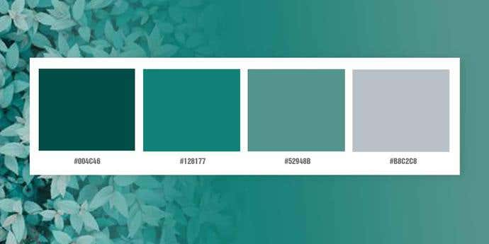 Aqua Blues Color Palette