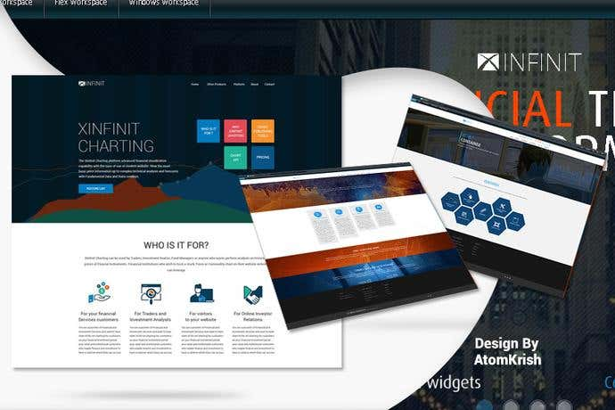 Best business homepage design