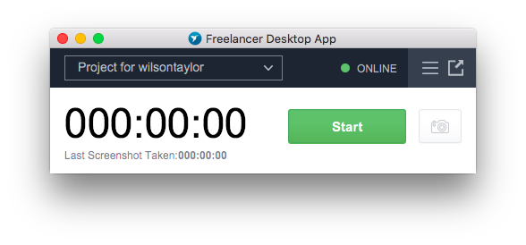 Out Now: Freelancer Desktop App in Compact View - Image 2