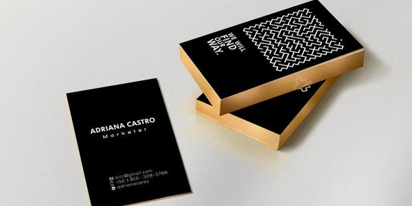 Modern Business Cards To Make A Killer First Impression