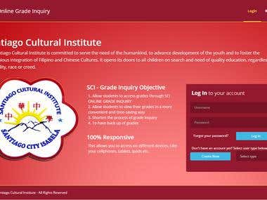 online grading inquiry system The psu online grading system allows for submission of end of term final grades,  grade changes, corrections to initial grades, submission of late grades and.