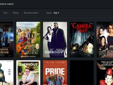 Its  basically a online based movie and TV shows server.
