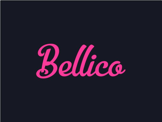 Bellico free cursive font