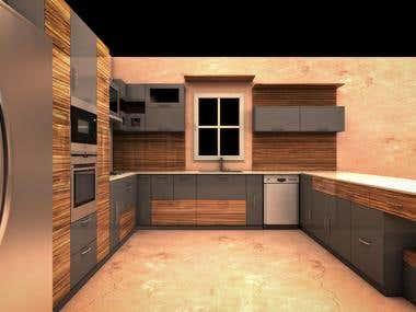 Watfa3d expert 2d 3d graphic designer egypt freelancer for Amr helmy kitchen designs egypt