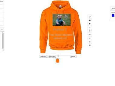 Amitkoyani full stack developer sharepoint net for T shirt designer plugin