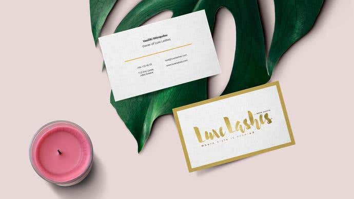 business card design freelancer