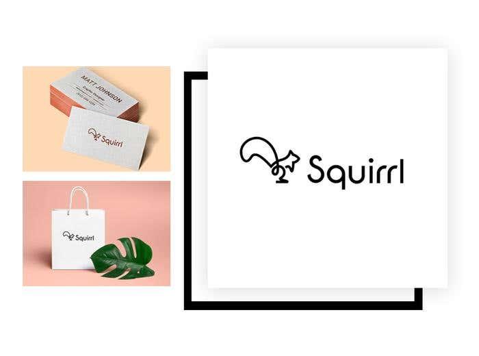 Squirrl logo concept by hamzahajji